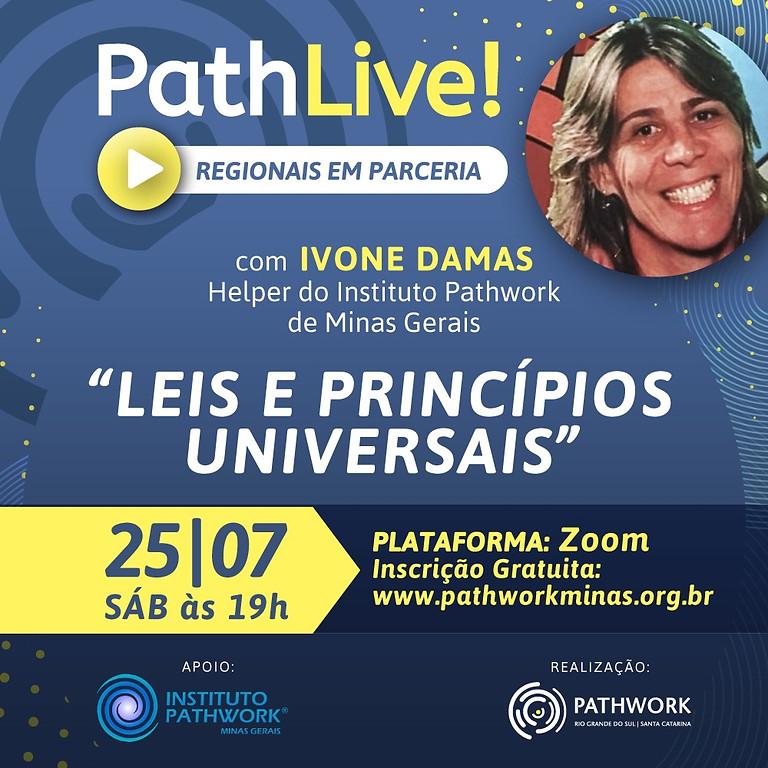 Live LEIS E PRINCÍPIOS UNIVERSAIS com Ivone Damas