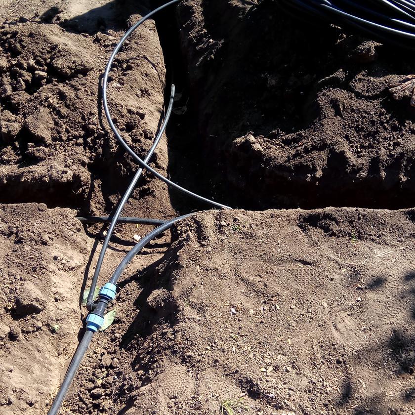 Монтаж поливочного водопровода