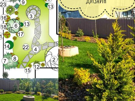 Ландшафтный дизайн. Озеленение. Рулонный газон в Санжейке