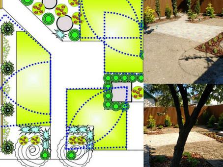 Ландшафтный дизайн дачи на Каролино-Бугазе