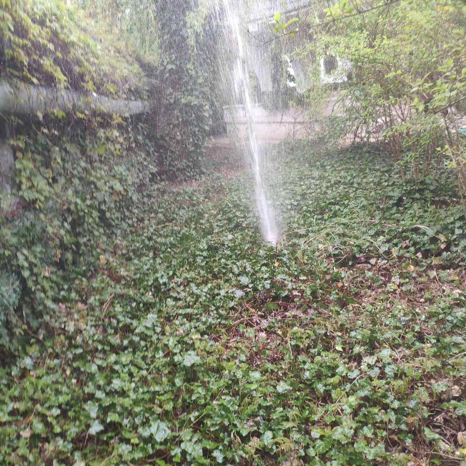 Ремонт поливочного водопровода