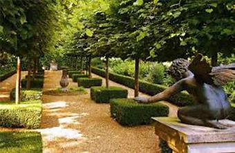 создание регулярных садов