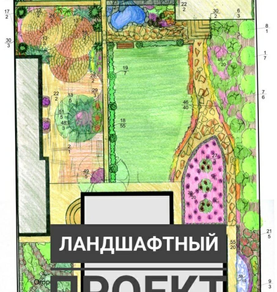 Ландшафтный проект Черноморка