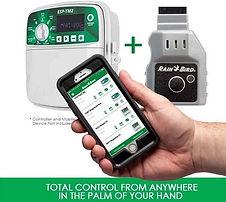 Rain Bird LNK WiFi Module control управление системой полива со смартфона