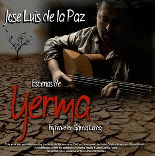 "Jose Luis de la Paz start his new path with a new release titled:  ""Yerma"""