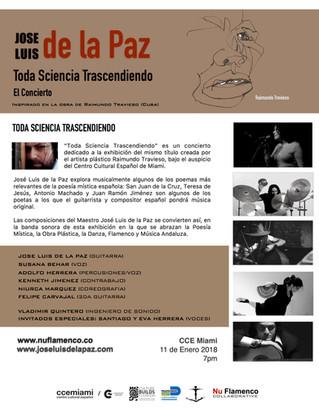 TODA CIENCIA TRASCENDIENDO de JOSE LUIS DE LA PAZ (El Concierto)