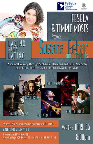 MAY 25 - 8pm Ladino Meets Latino