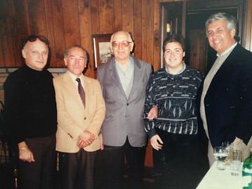 Jose Luis de la Paz / Arturo Frondizi and friends