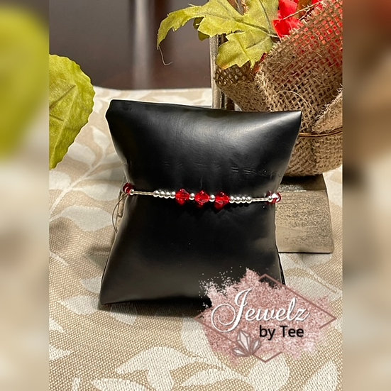 Valentine Sterling Silver Bracelet