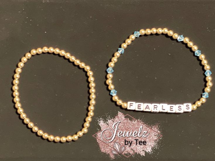 Personalized Stacked Elastic Bracelet