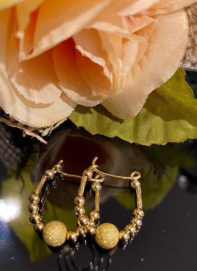 14k All Gold Filled Little Diva Children Earrings