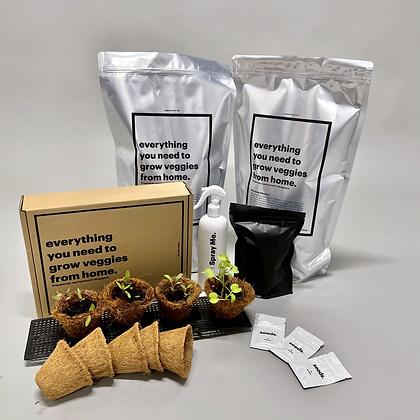 Bundle of 2 Veggie Mix(-10%) + 1 Grow Kit(-10%)