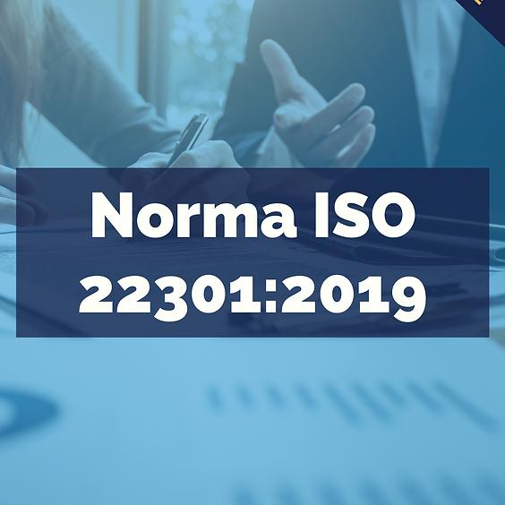 Implementación NORMA ISO 22301:2019 Plan de continuidad de negocios