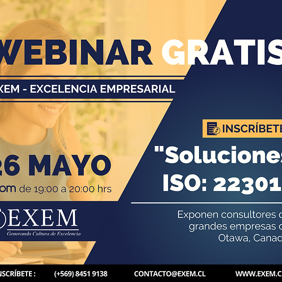 Master Class: Norma ISO 22301:2019