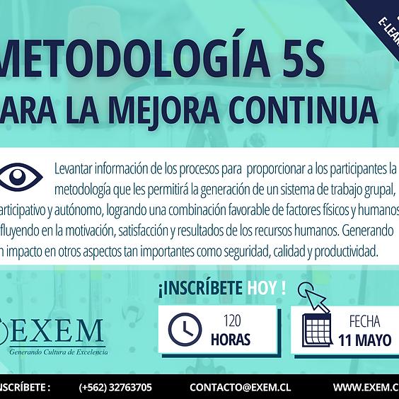 Curso Online: Metología 5S para la Mejora Continua