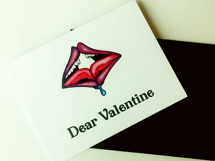 """Dear Valentine"" Card"