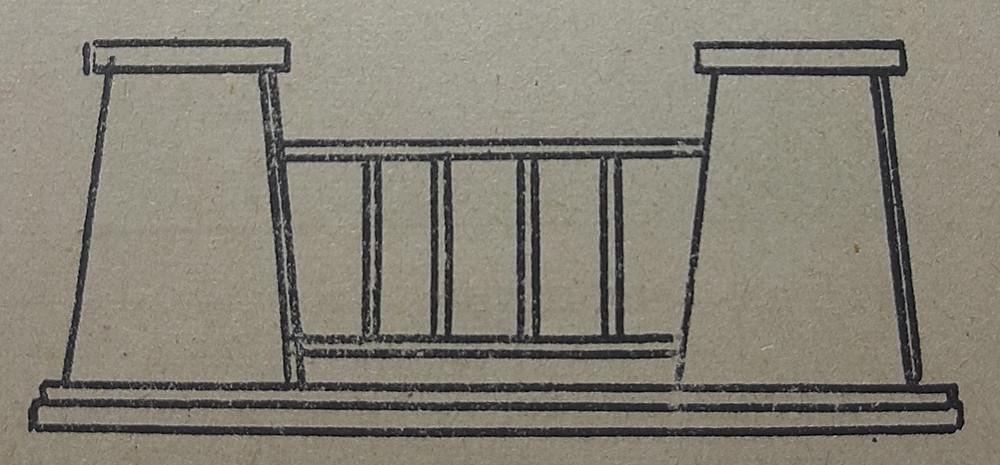 La arquitectura egipcia da preferencia a la línea horizontal.