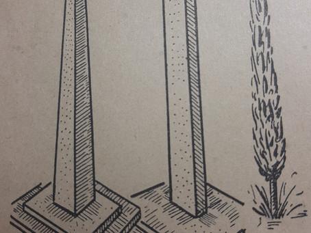 El lenguaje de las líneas II: Líneas verticales y horizontales