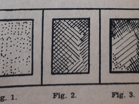 Elementos del dibujo artístico. Estudio elemental de la sombra