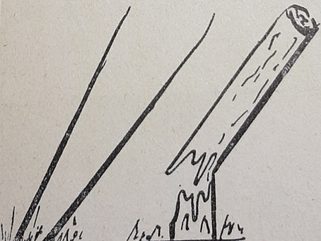 El lenguaje de las líneas V: Líneas inclinadas y líneas curvas