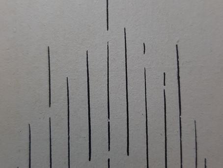 El lenguaje de las líneas III: Líneas verticales