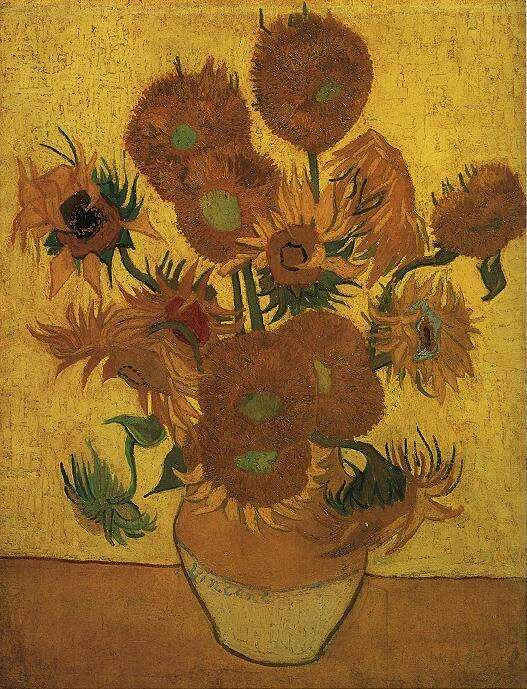 Jarrón con catorce girasoles. Museo Van Gogh, Amsterdam