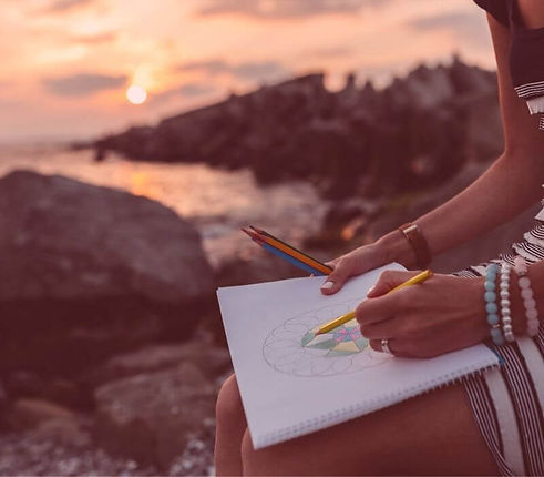 soul art drawing a mandala sunset.jpg