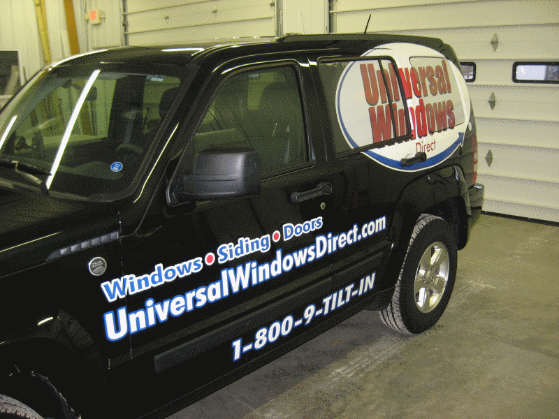 Super Graphics & 50/50 Window Film
