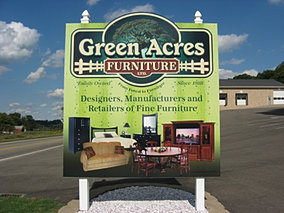 Green Acres Furniture Sign