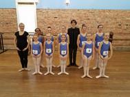 AIM Ballet ABT 1A Students at their Ballet Exam