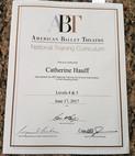 Miss Catie's Level 4 & 5 ABT Teacher Certification