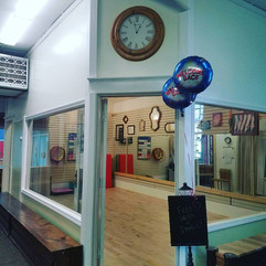 View into Studio D from the Lobby