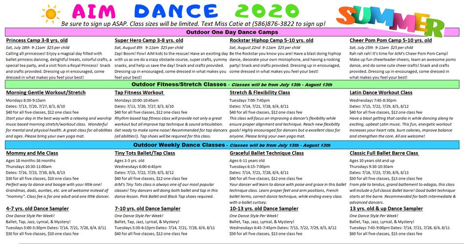 AIM Summer 2020 Schedule.PNG