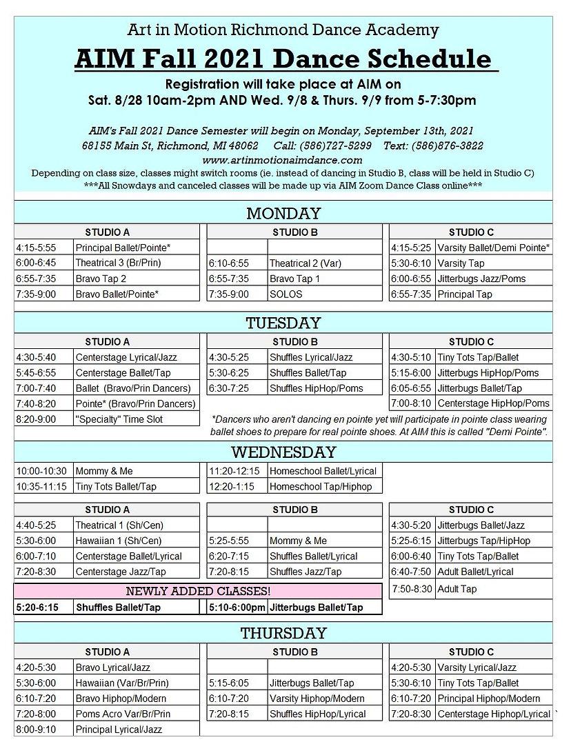 AIM Fall Schedule 2021 ADDED CLASSES.JPG