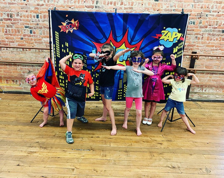 Pow! Bam! Zap! AIM Super Hero Camp!