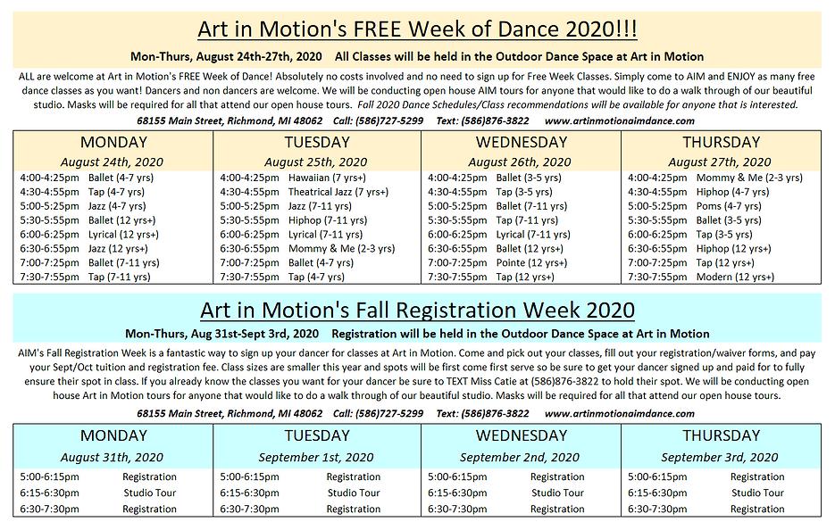 AIM Free Week Schedule 2020.PNG