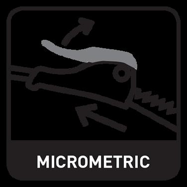 Szybie zapięcie mikrometryczne