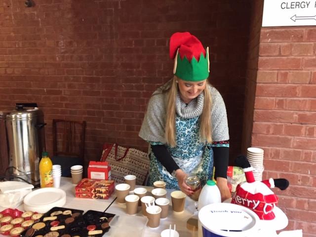 Our lovely tea elf