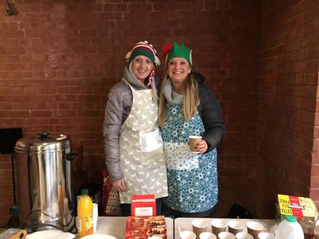 Our lovely tea elves