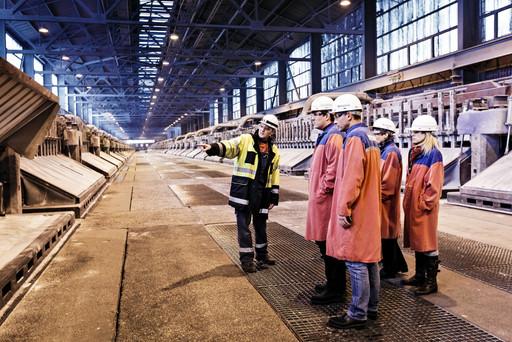 Industrie Aluminiumherstellung