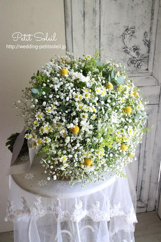 285.小花のクラッチブーケ