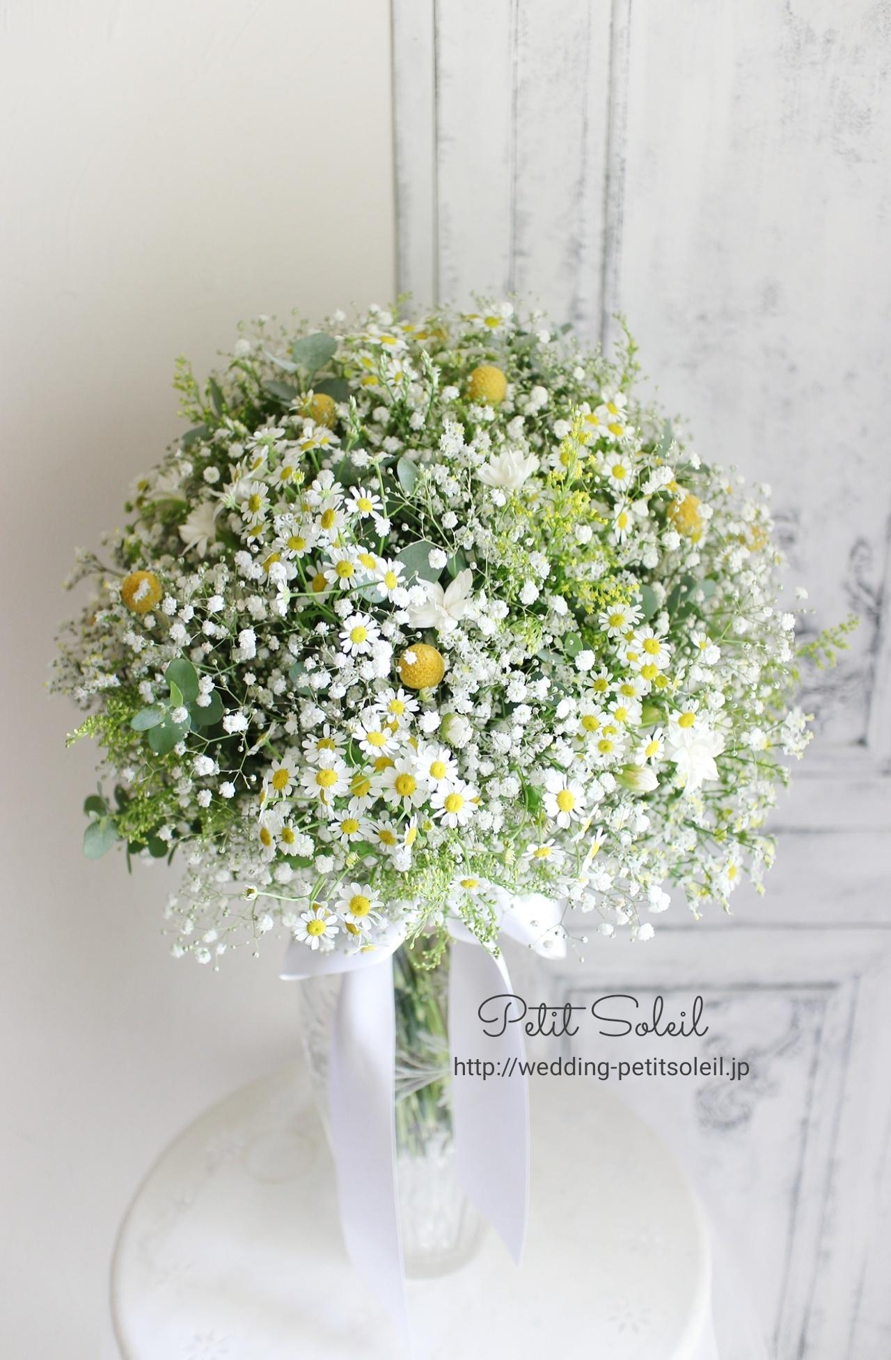 310.黄色い小花のクラッチ