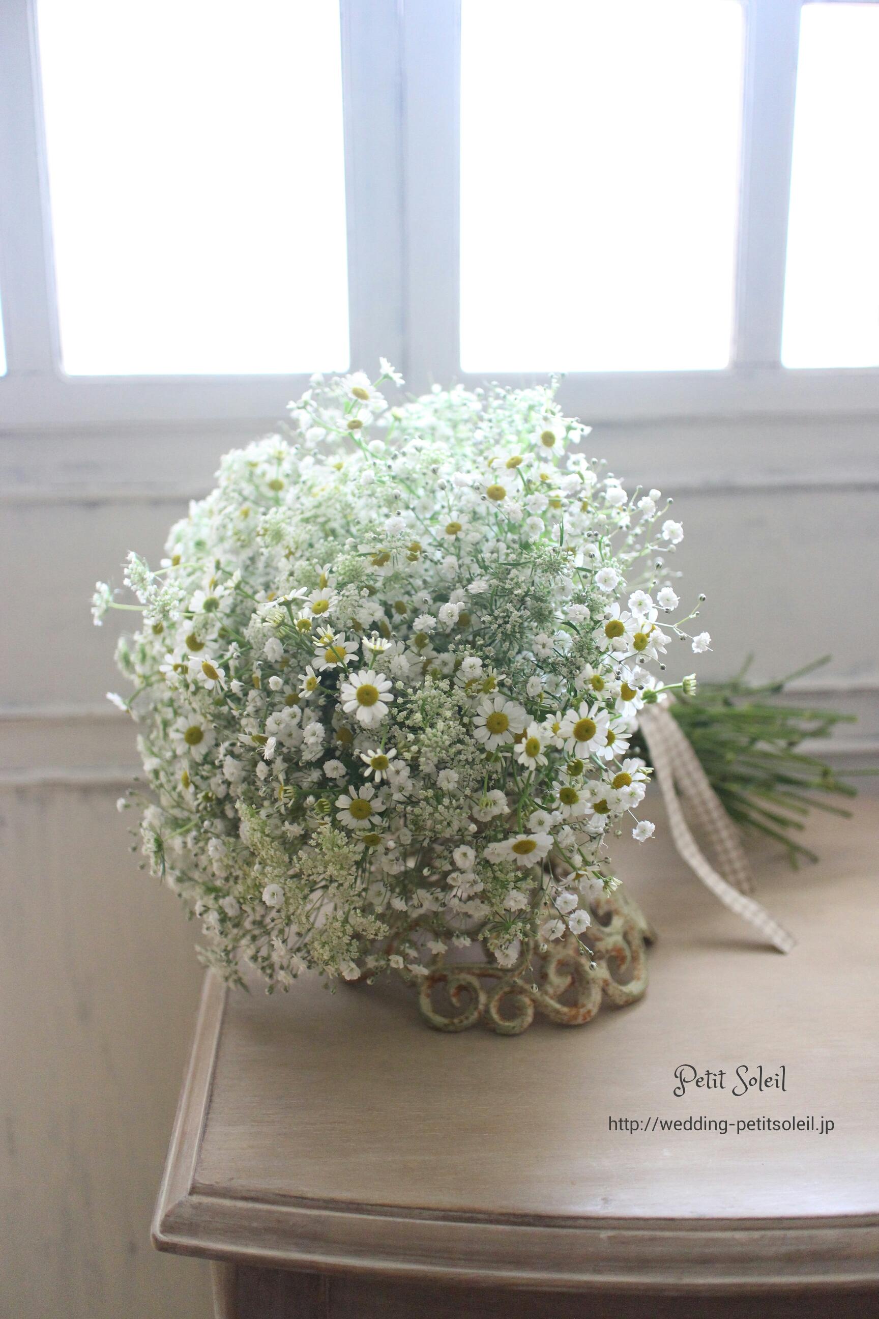 229.小花のクラッチブーケ