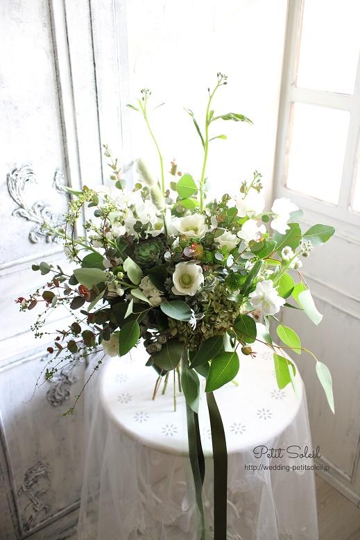 233.白い花のワイルドブーケ