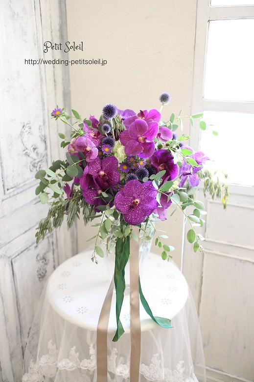 171.紫のワイルドブーケ