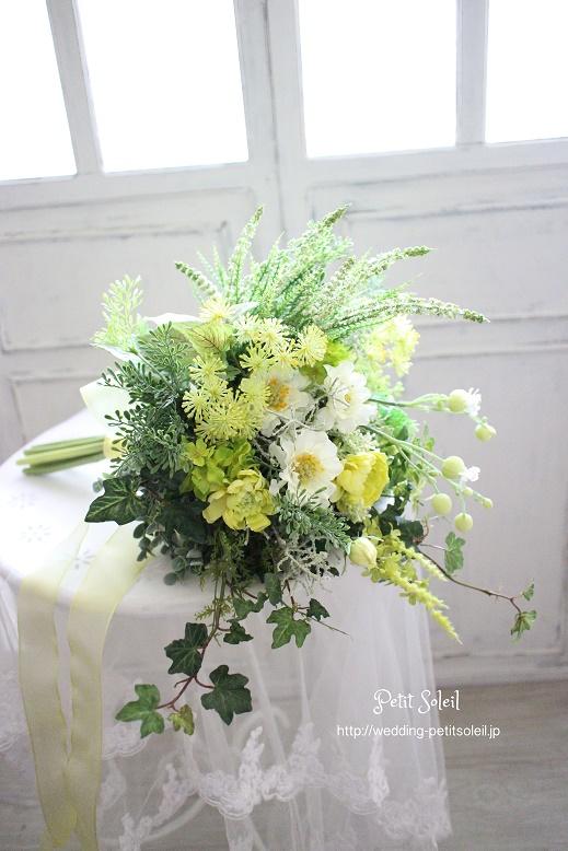 167.造花のナチュラルブーケ