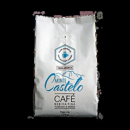 CAFÉ MONTE CASTELO BEBIDA FINA 250g/Pó