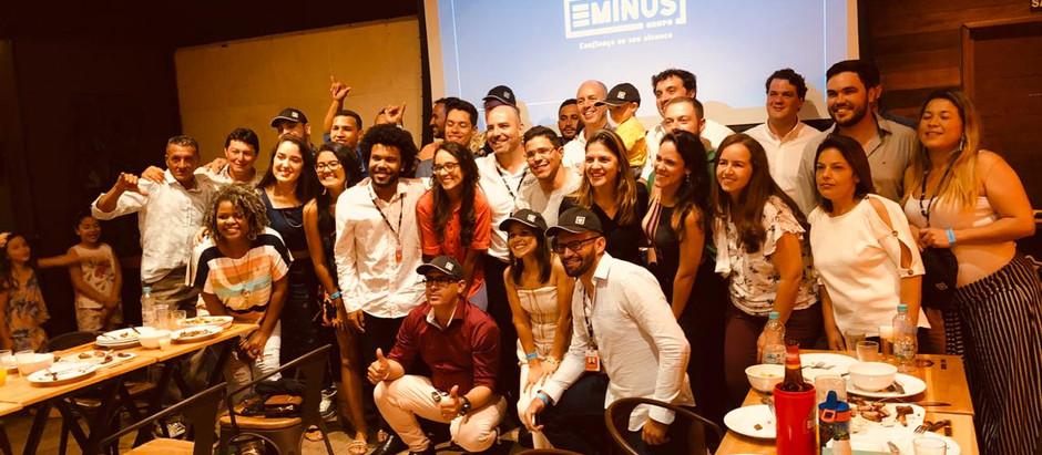 Festa de final de ano e apresentação da nova marca do Grupo Eminus