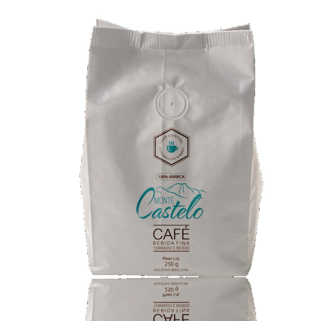 CAFÉ MONTE CASTELO BEBIDA FINA