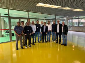 Empresários reunidos para firmar a criação da Associação Brasileira de Protensão